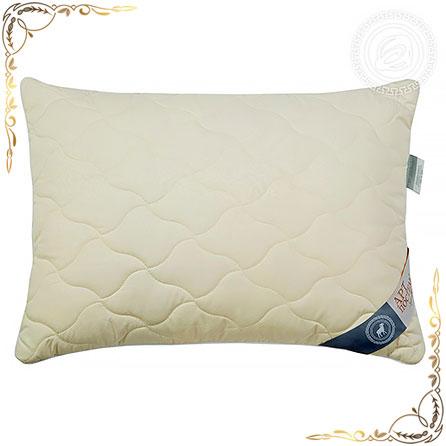 Подушка тик пухоперовой Меринос белая. Вид вблизи 2.