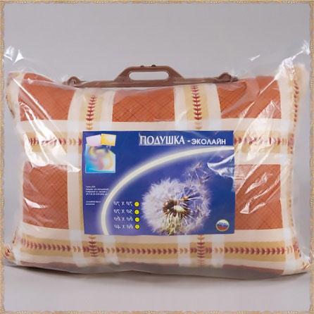 Подушка «Эколайн» (волокно). Вид упаковки