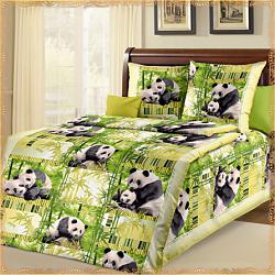 Комплект постельного белья Панды для девочек