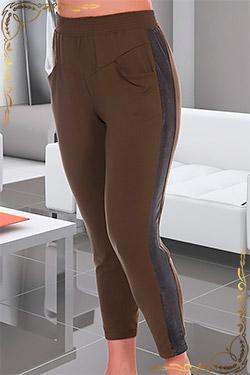 Брюки женские больших размеров из вискозы 7109