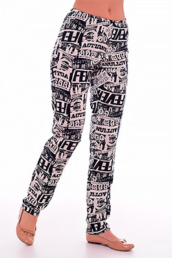 Махровые женские брюки 8-17