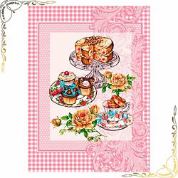 Вафельное полотенце Десерт 50Х60