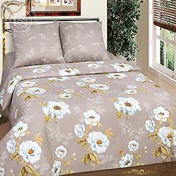 Комплект постельного белья бязь Дикая роза