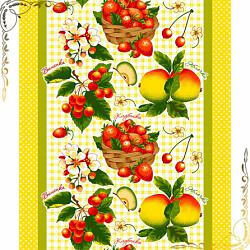 Вафельное полотенце Фруктовый сад 1 50Х70