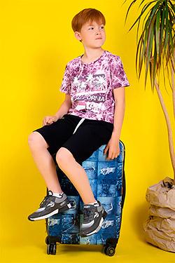 Футболка на мальчика летняя модная 11134