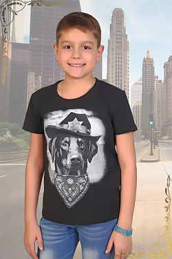 Детская футболка с принтом Ярик