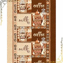 Вафельное полотенце Кофе 50Х70