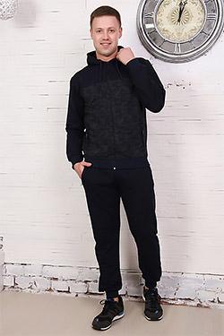 Костюм мужской с брюками на молнии 17542