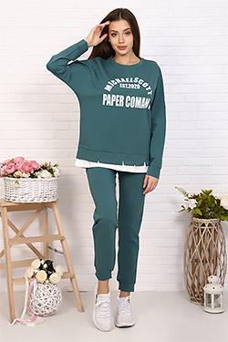 Костюм модный с надрезами 26512