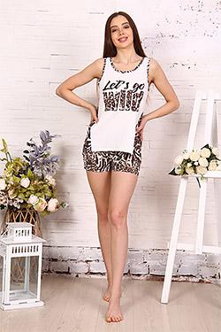 Костюм домашний леопардовой расцветки 35501