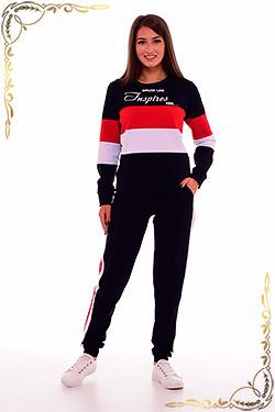 Костюм женский трикотажный с брюкамий 5-238