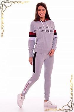 Костюм комбинированный с брюками 5-246