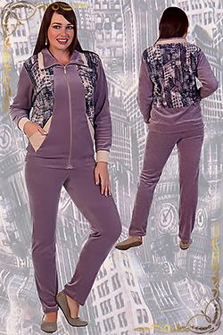Велюровый костюм женский Бейкер-стрит
