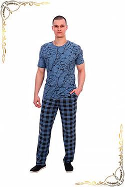 Костюм с брюками и футболкой из хлопка Давид