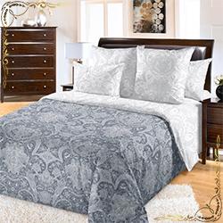 Комплект постельного белья Бельканто 2 серый из перкаля