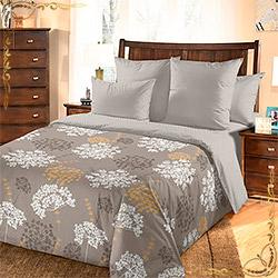 Комплект постельного белья бязь Фенхель 3 коричневый