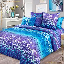 Постельное белье бязь Фрея 1 фиолетовое