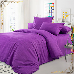 Набор перкаль Лавандовое поле фиолетовое