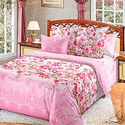 Постельное белье бязь Мадемуазель 2 розовое