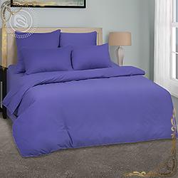 Постельное белье велюр Мерло фиолетовое