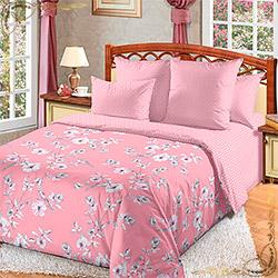 Постельное белье бязь Камилла 3 розовое