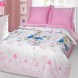 Набор сатин Розовые мечты розовый