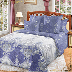 Постельное белье Шедевр 3 фиолетовое из сатина