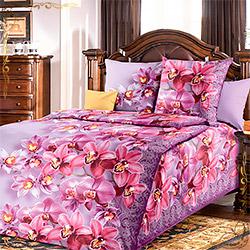 Комплект постельного белья бязь Волшебные грезы фиолетовый