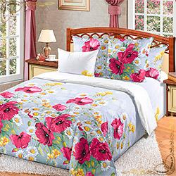 Комплект постельного белья бязь Волшебные краски 2 серый
