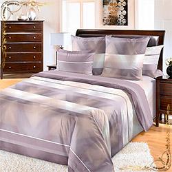 Постельное белье бязь Спектр 2 коричневое