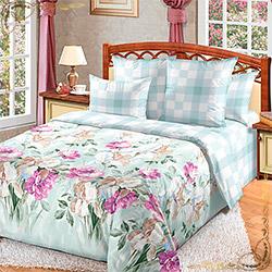 Комплект постельного белья перкаль Желание 3 серый