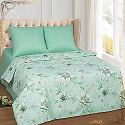 Комплект постельного белья бязь Женева зеленый