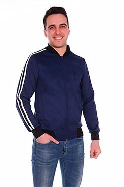 Куртка спортивная из эко-замши Бильярд