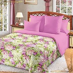 Комплект постельного белья перкаль Летний сад