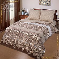 Комплект постельного белья Лорд на резинке из поплина