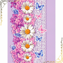 Полотенце вафельное Марина 1 47Х70