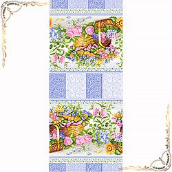 Полотенце вафельное Аврора 100Х150 фиолетовое