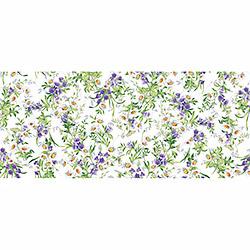 Вафельное полотенце Дарья 100х150 фиолетовое