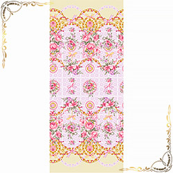 Полотенце вафельное Донна 47Х70 розовое