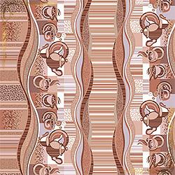 Полотенце Эспрессо 47Х70 коричневое из вафельного полотна