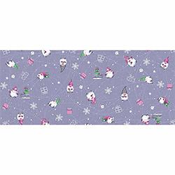 Вафельное полотенце Гномики 47х70 фиолетовое