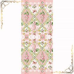 Полотенце вафельное Миледи 100Х150 розовое
