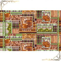 Полотенце вафельное С легким паром 47Х70 коричневое