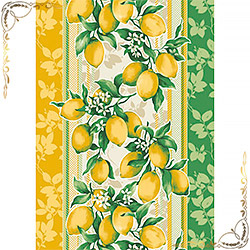Полотенце Сицилия 50Х70 желтое из вафельного полотна