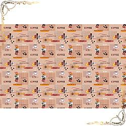 Полотенце Тет-а-тет 100Х150 бежевое из вафельного полотна