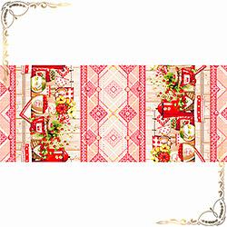 Полотенце Варенье 1 47Х70 красное из вафельного полотна