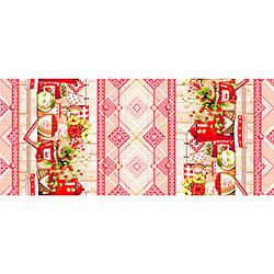 Вафельное полотенце Варенье 100х150 красное