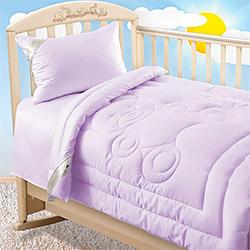 Одеяло сатин Одеяло Лебяжий пух 300гр фиолетовое