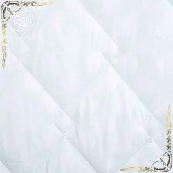 Одеяло Велюр пл.300гр/м белое из хлопка с ворсом