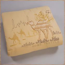 Одеяло Верблюжья шерсть с вышивкой, пл.400 гр/м